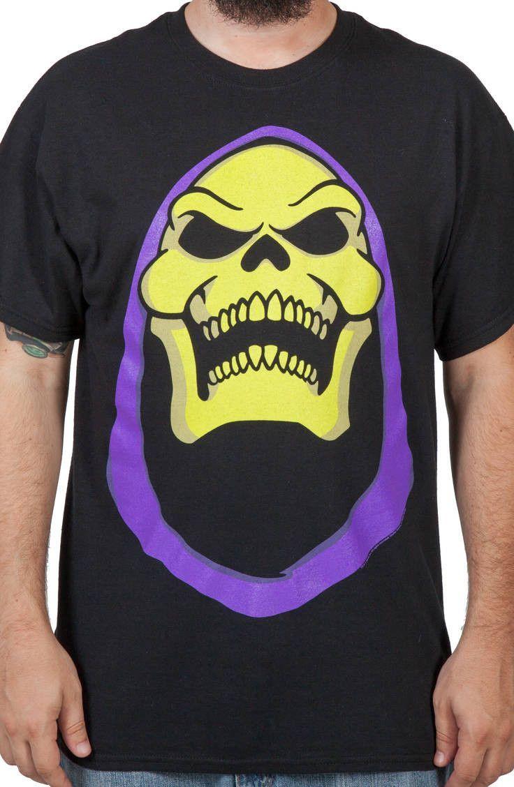 He Man Skeletor To Cool To Skull Men/'s T-Shirt