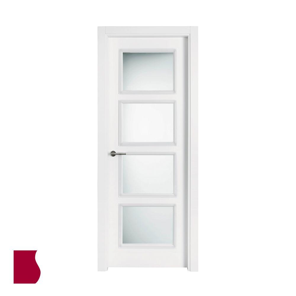Modelo 9400 Ar V4 Lacada Blanca Colecci N Lacada Puertas De  ~ Precio Puerta Lacada Blanca Instalada