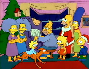 The Simpsons Christmas | Simpsons | Pinterest | American dad ...