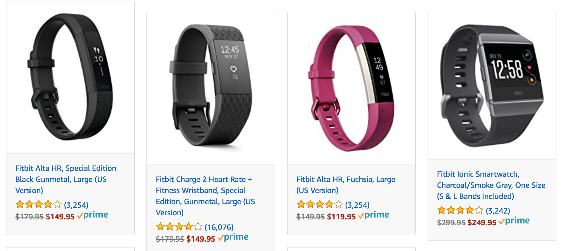 Amazon Offering Huge Discounts on Fitbit Products for