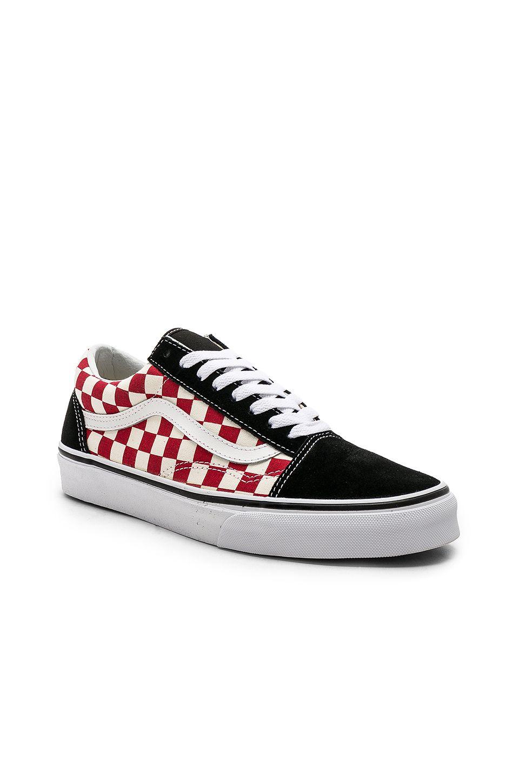 Vans Checkerboard Old Skool Sneakers In