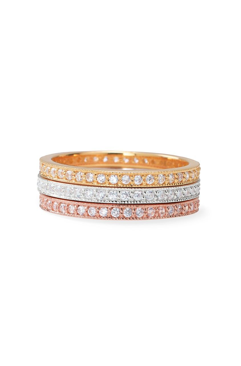 eternity bands.