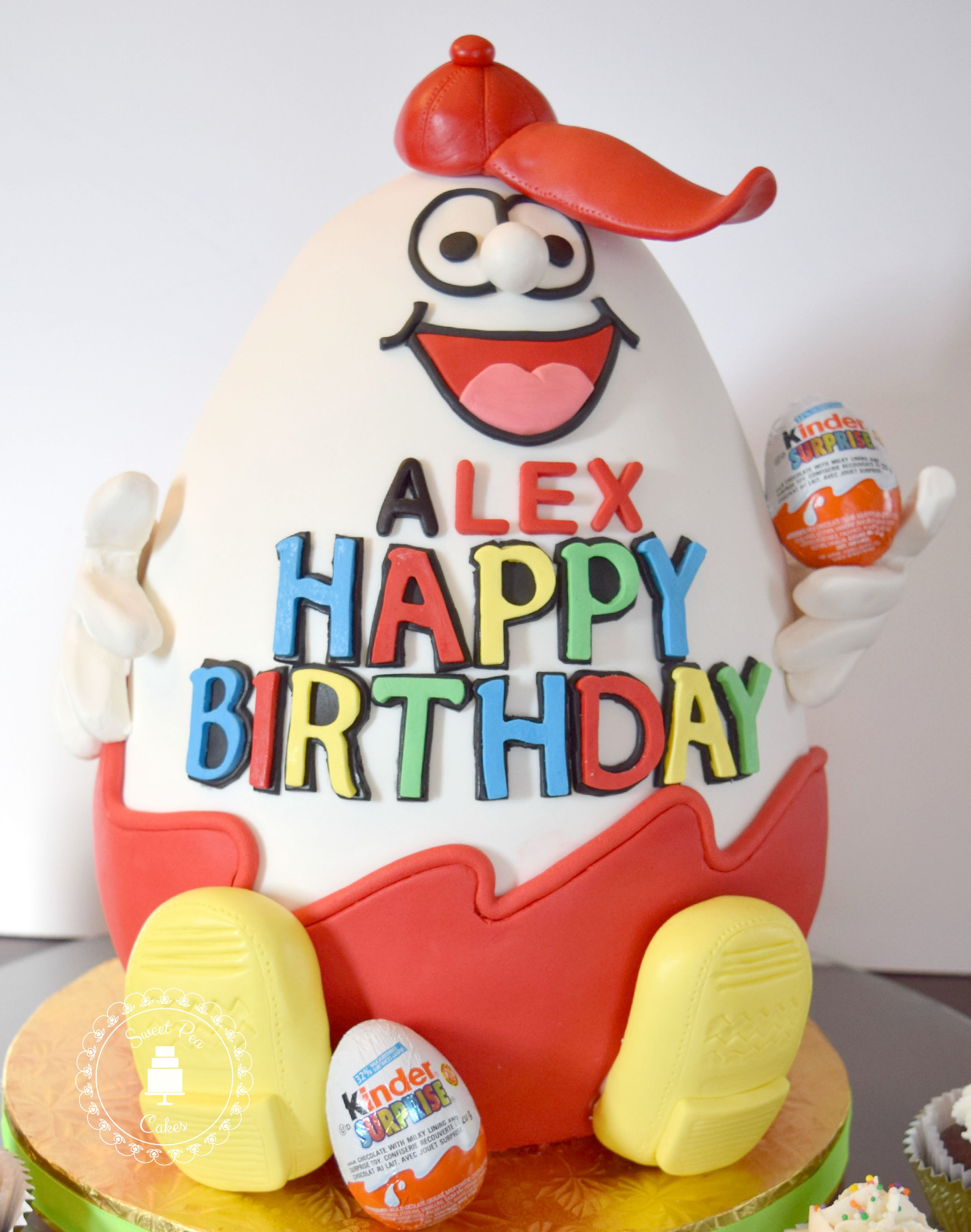 Kinder Surprise Birthday Cake Yes There Is Actually A