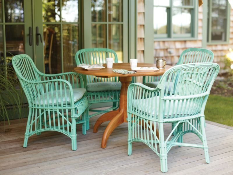 Wicker By Maine Cottage | Ilka Chair #wickerfurniture