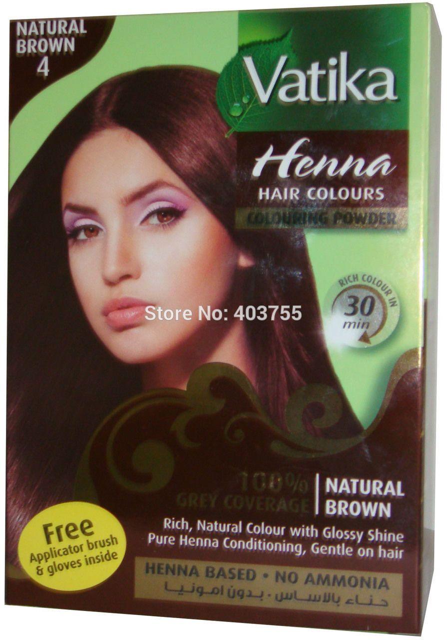henna hair dye | Vatika-Henna-Hair-Coloring-Powder-natural-Brown-100 ...