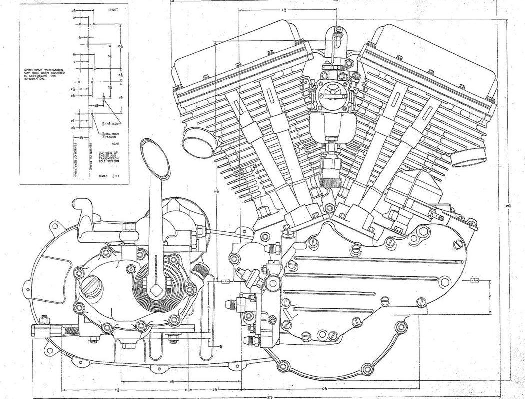 engine schematic blueprints