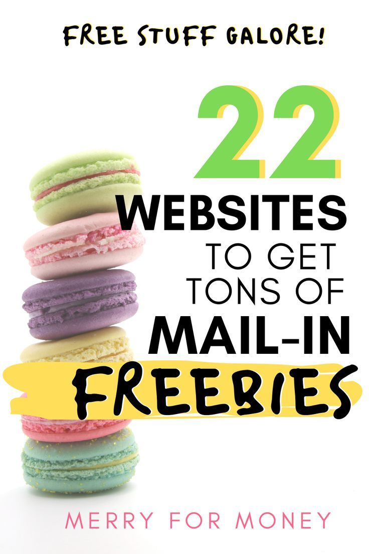 22 Best Sites to Score Free Product Samples By Mail