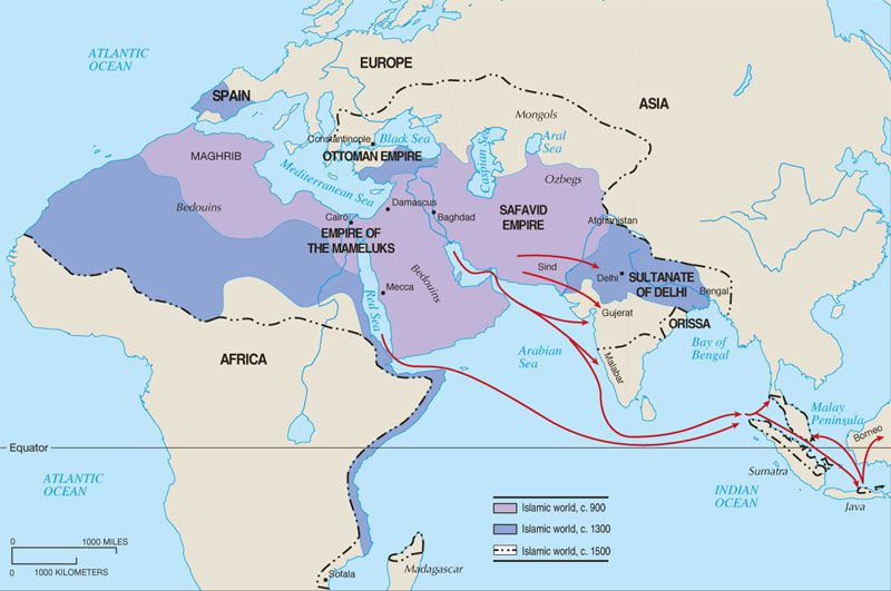 The Orthodox Christian Channel - OCC247 Turks - where did thay come - fresh world history map activities the rise of islam answers