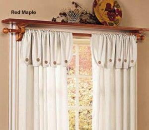 Shopzilla Wood Window Shelf Curtain Rod Window Treatments