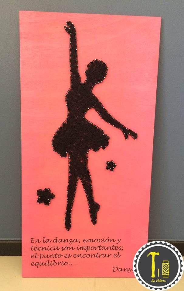 ballerina string art by lahileria decoracion