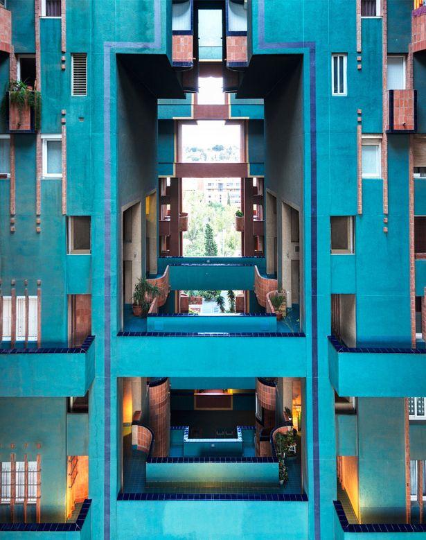 walden 7 ricardo bofill taller de arquitectura archinect color pinterest architecture. Black Bedroom Furniture Sets. Home Design Ideas