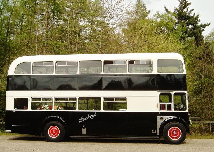 Vintage Double Decker Bus Hire Alt To Wedding Limo
