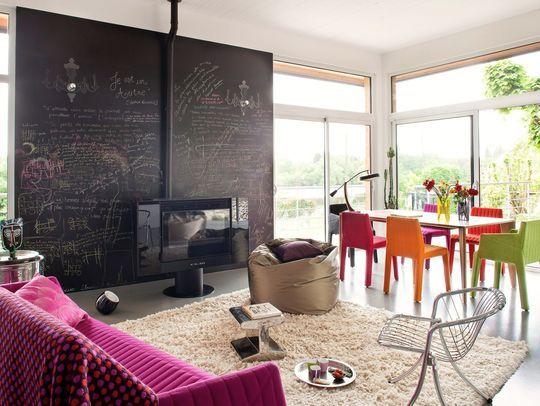 Aménagement salon  où mettre son canapé ? Salons, Living rooms