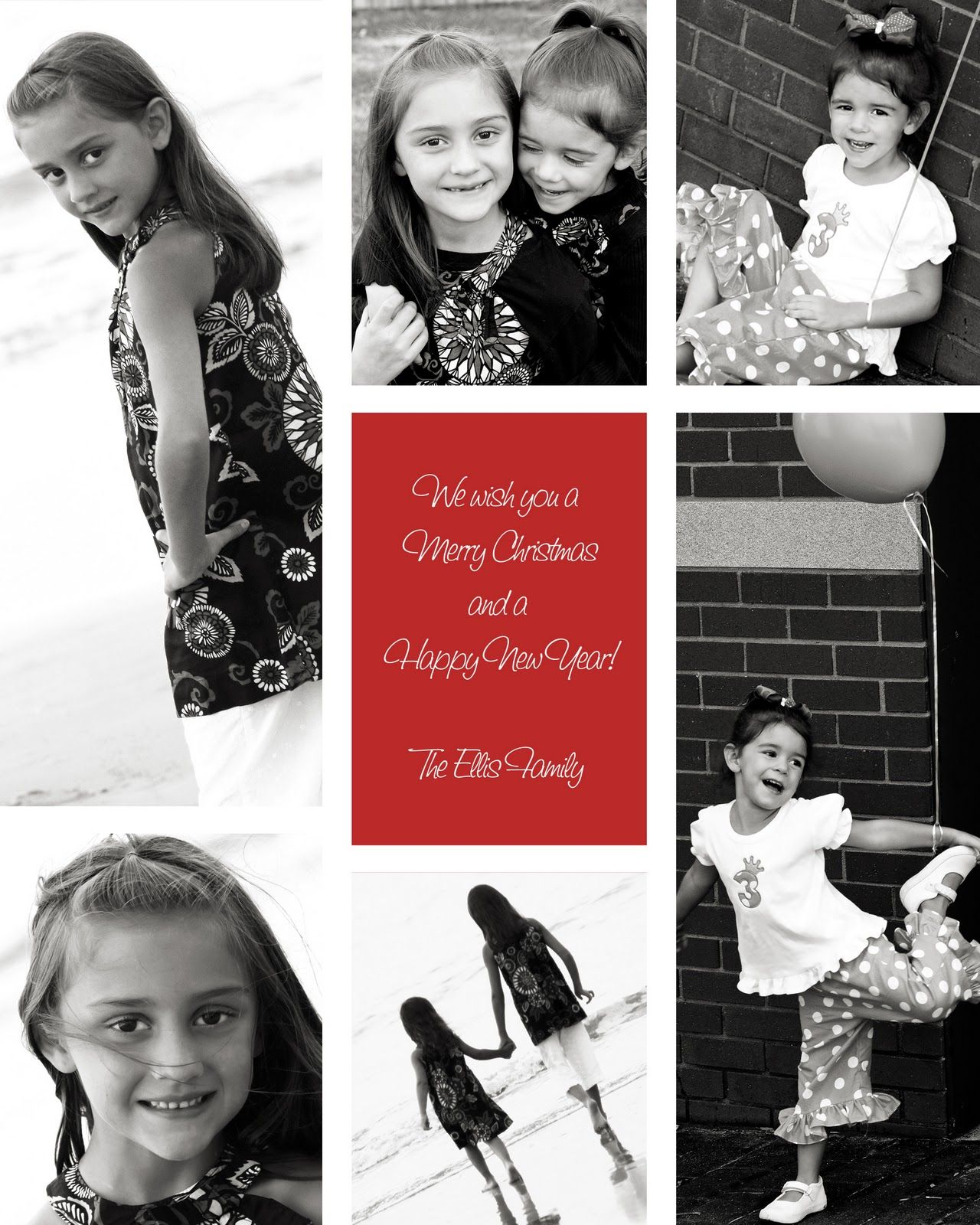 Christmas Card Template. 150 Christmas Card