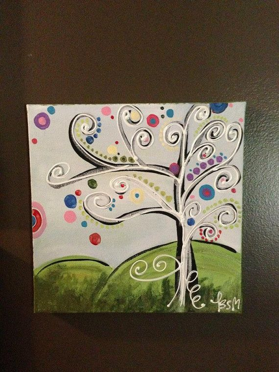 30 Easy Canvas Painting Ideas | Arts and Crafts ...
