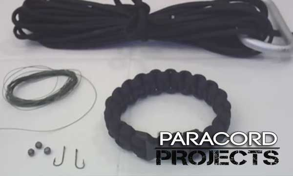 How To Make A Paracord Bracelet With Fishing Kit Inside Paracord