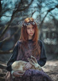 Лесная история.. Модели Екатерина, Зинаида Фотограф
