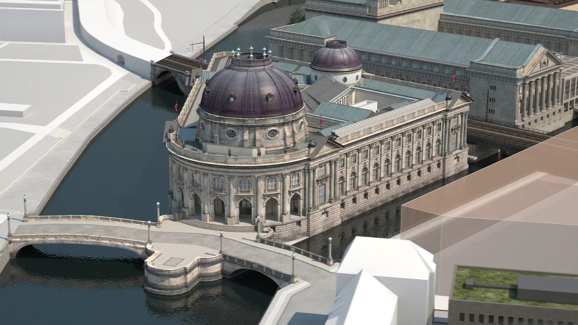 Bode Museum Masterplan Museumsinsel Projektion Zukunft Statue Of Liberty Museum Landmarks