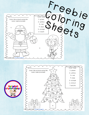 freebie coloring sheets with a polar expresss theme | KinderLand ...