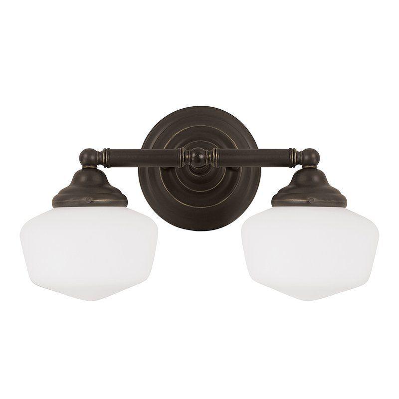 Sea Gull Lighting 44437 Academy 2 Light Bathroom Vanity Light ...