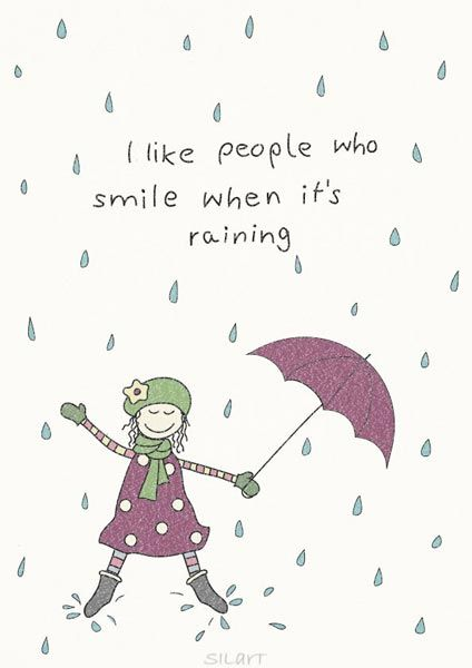 I like people who smile, Illustration, Zeichnung, Drawing ...