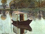 "New artwork for sale! - "" The Studio Boat  by Claude Monet "" - http://ift.tt/2pGFjun"