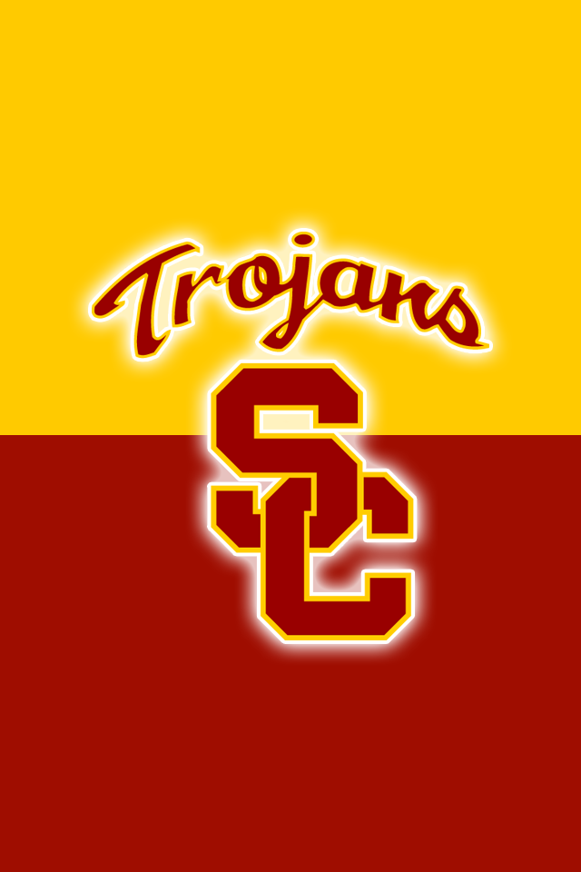 Free Usc Trojans Iphone Wallpapers Install In Seconds 15 To Choose From For Every Model Of Iphone And Ipod Touch Ever Made Fight On Http Rioww Sport