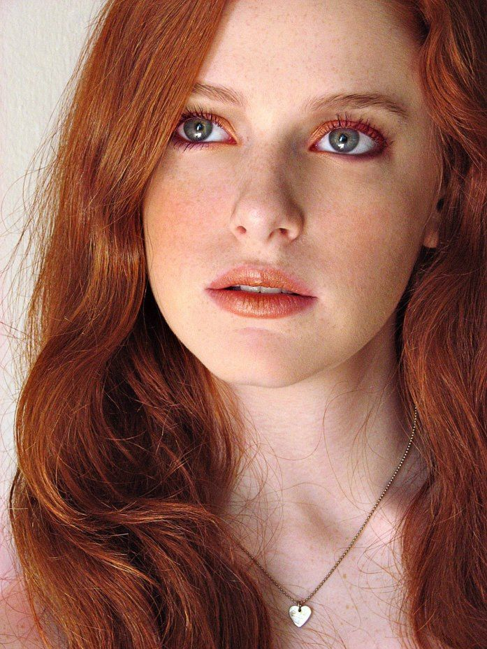 Beautiful natural redhead