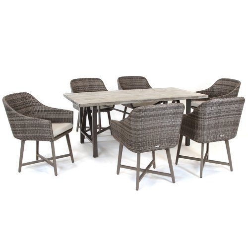 Kettler Uk 6 Seater Dining Set With
