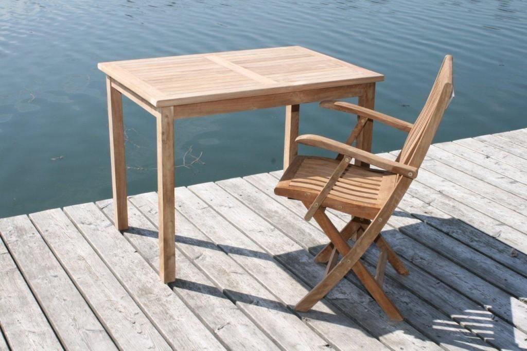 Tisch Gartentisch Rechteckig X Cm In Premium Teakholz Bild With Gartentisch  Rechteckig