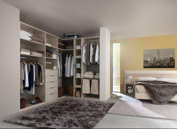 un dressing ouvert id al pour une chambre d couvrez. Black Bedroom Furniture Sets. Home Design Ideas