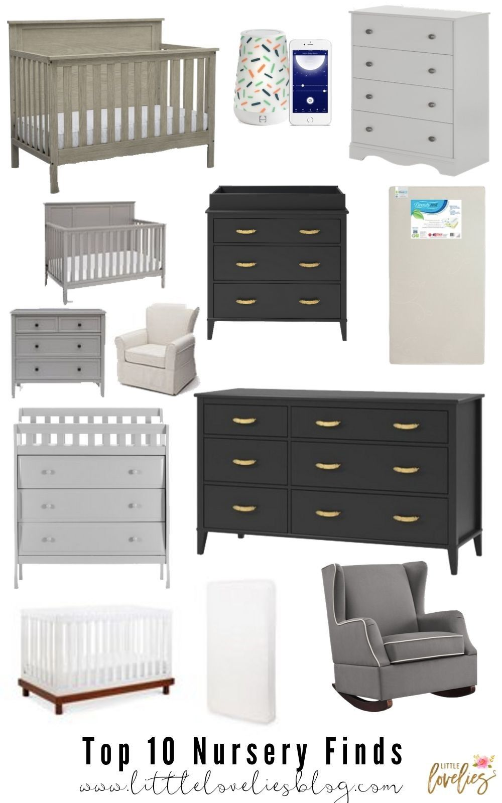 Affordable Nursery Finds From Walmart Kids Decor Baby