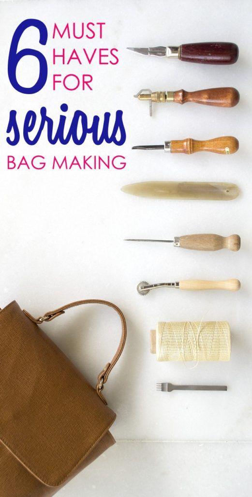 6 tools for serious bag making | bag sewing patterns | handbag ...