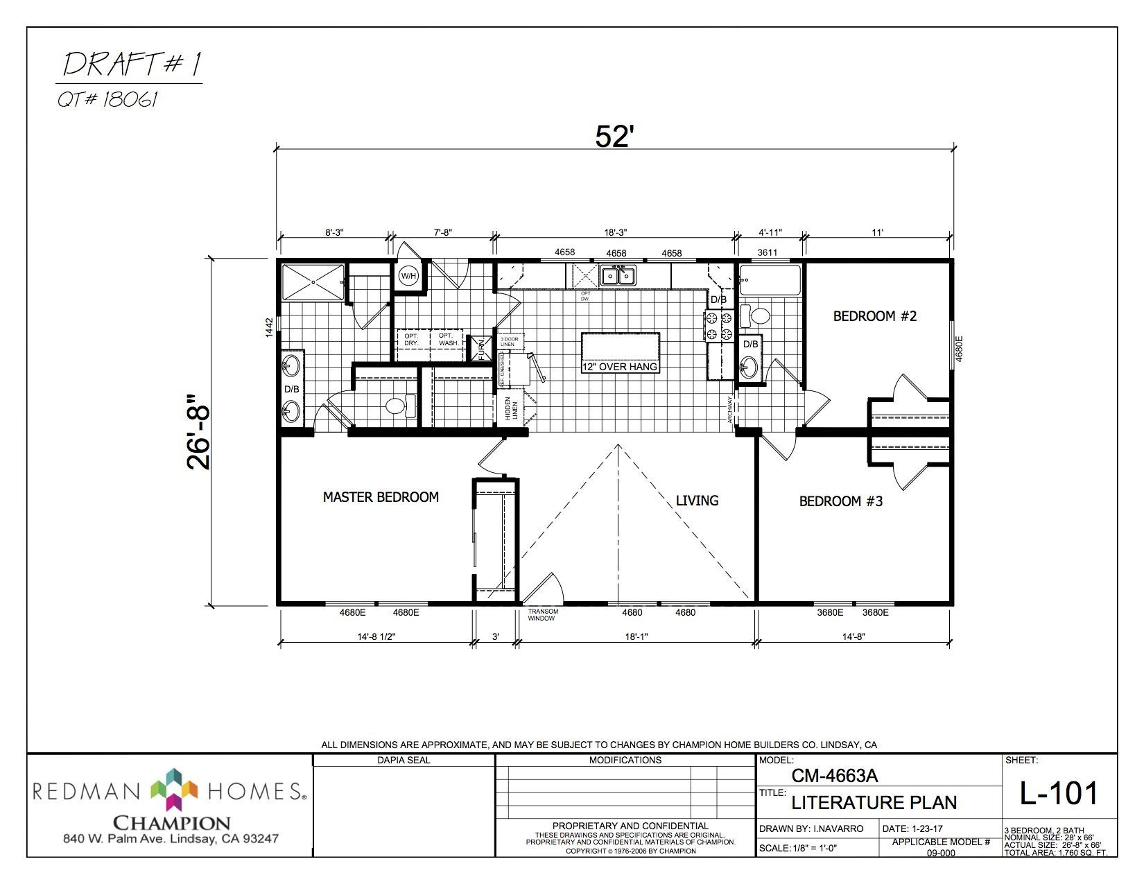Smalley Ranch in 2020 Modular homes, Floor plans, Ranch