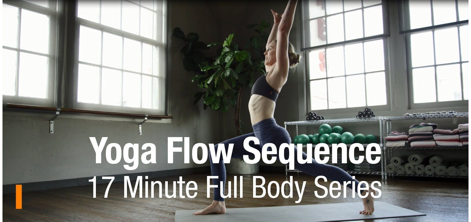 Yoga Flow Sequence with Stephanie Birch | Fitness | Yoga