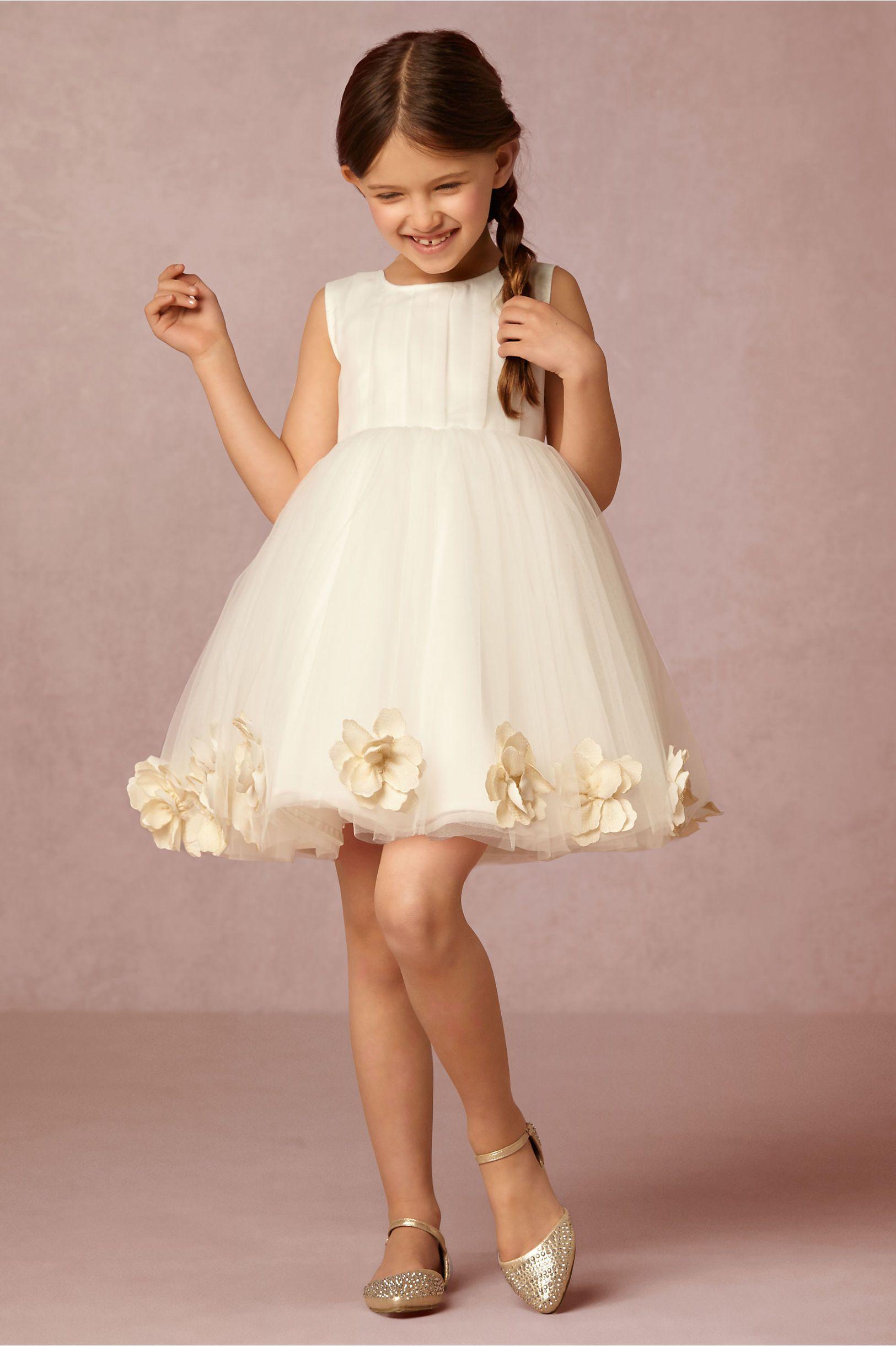 BHLDN Nellie Dress in  Dresses Flower Girl Dresses at BHLDN
