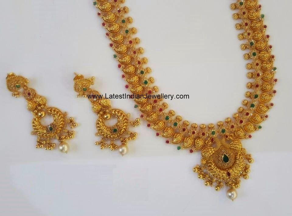 Huge Uncut and Antique Mango Haram | Indian jewelry, Uncut diamond ...