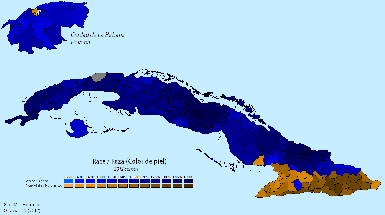 Maps on the web racial map of cuba 2012 cuban census maps maps maps on the web racial map of cuba 2012 cuban census gumiabroncs Gallery