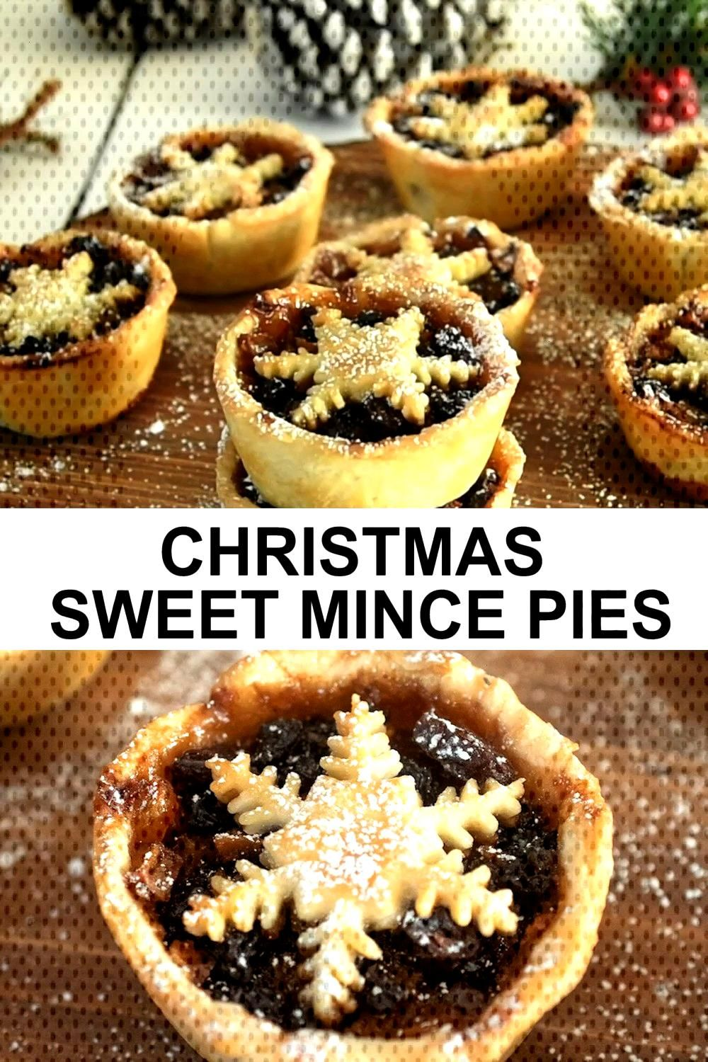 Christmas Sweet Mince Pies - Culinary Ginger - Christmas Sweet Mince Pies    Christmas Sweet Mi