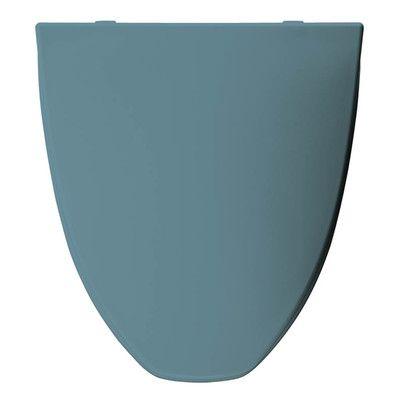 Trumbull Church Plastic Elongated Toilet Seat Finish: Regency Blue