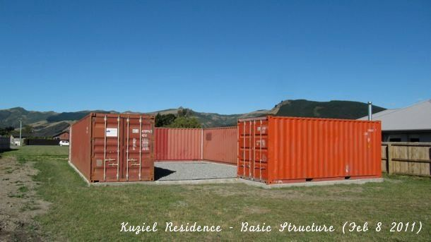 Shipping Container Homes Home Kuziel Residence Tai Tapu New Zealand