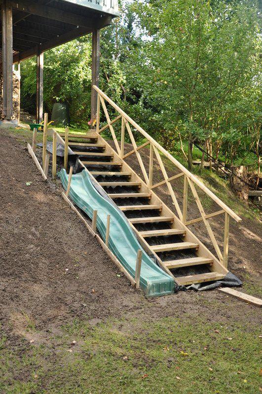 Photo of trappa trädgård