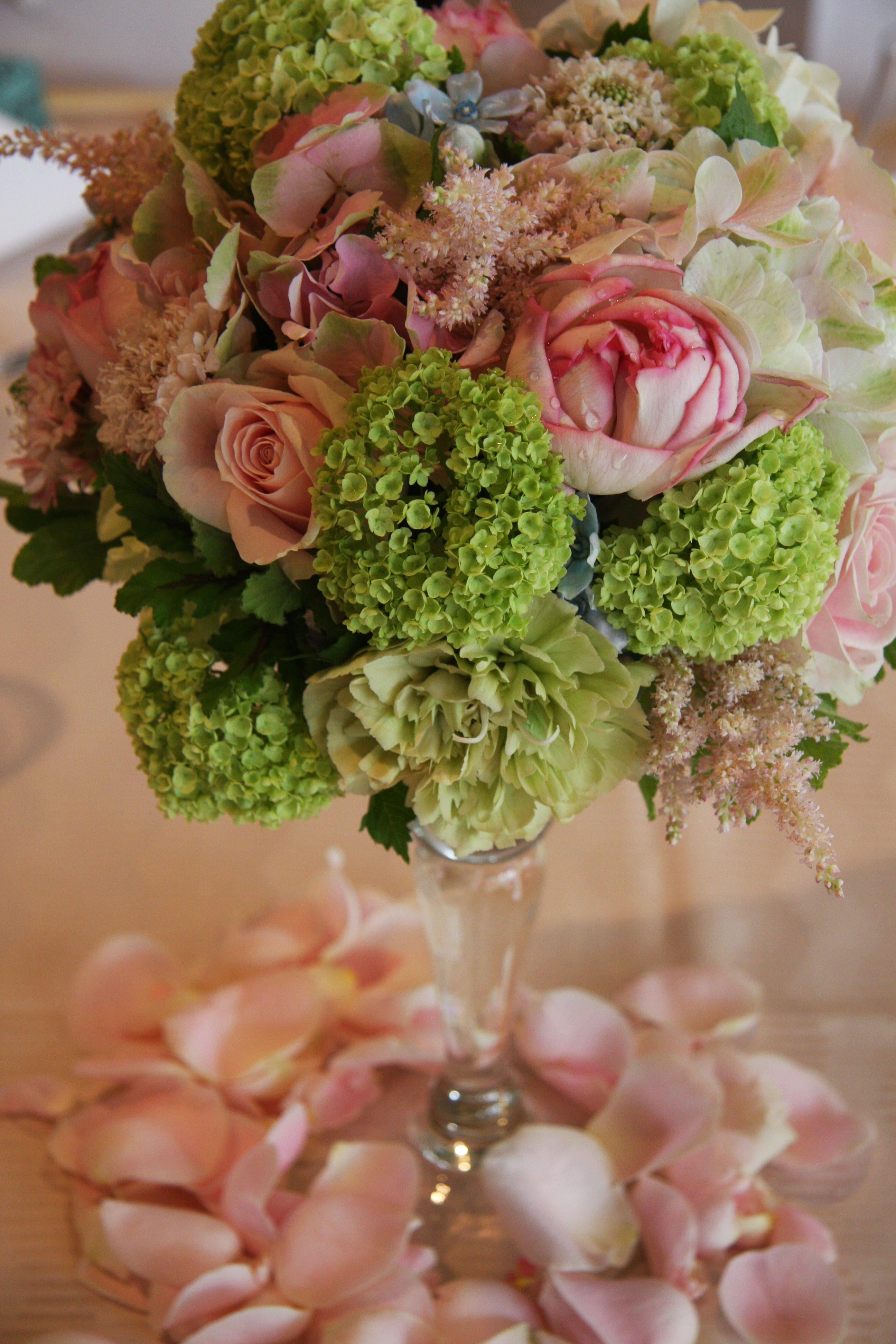 Rosehydrangea and vibrunum flowers pinterest hydrangea