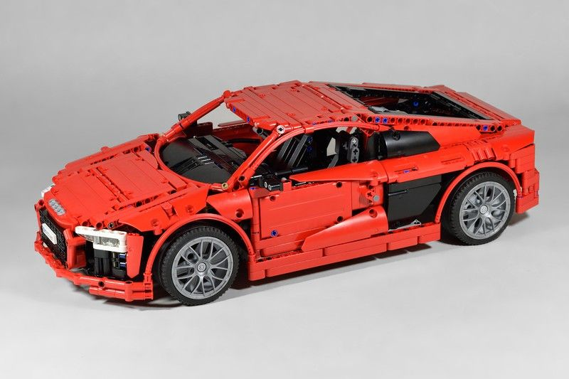lego audi r8 v10 plus by fanylover lego veh culo. Black Bedroom Furniture Sets. Home Design Ideas