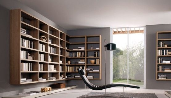 How To Use Living Room Walls Create Modern Shelves Book Storagewall