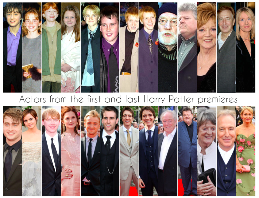 Actors From The First And Last Harry Potter Premiere Harry Potter Rpg Harry Potter Actors Harry Potter Love