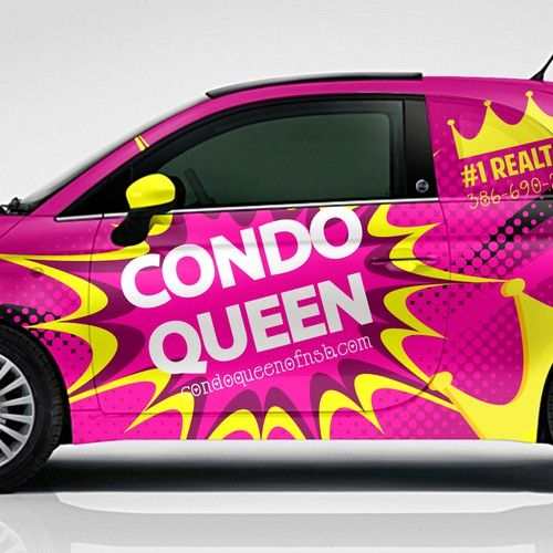 This is one of the design i enjoyed working on the brief was to create a pure girly design for the roads of las vegas
