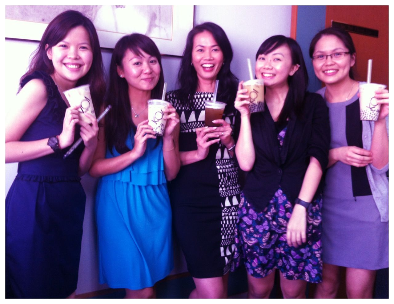 Bubble Tea from our dear boss!