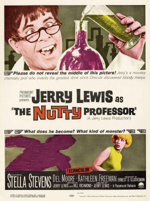 O Professor Aloprado The Nutty Professor Cartazes De Filmes