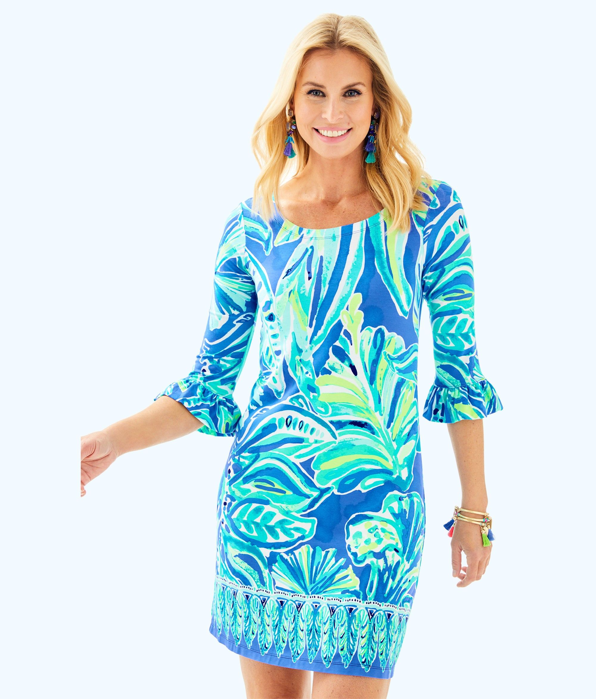 21916a10d9906d Lilly Pulitzer Upf 50+ Sophie Ruffle Dress - XXS | Products ...